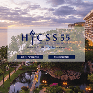 HICSS 55 Call for Papers - Maui, Hawaii